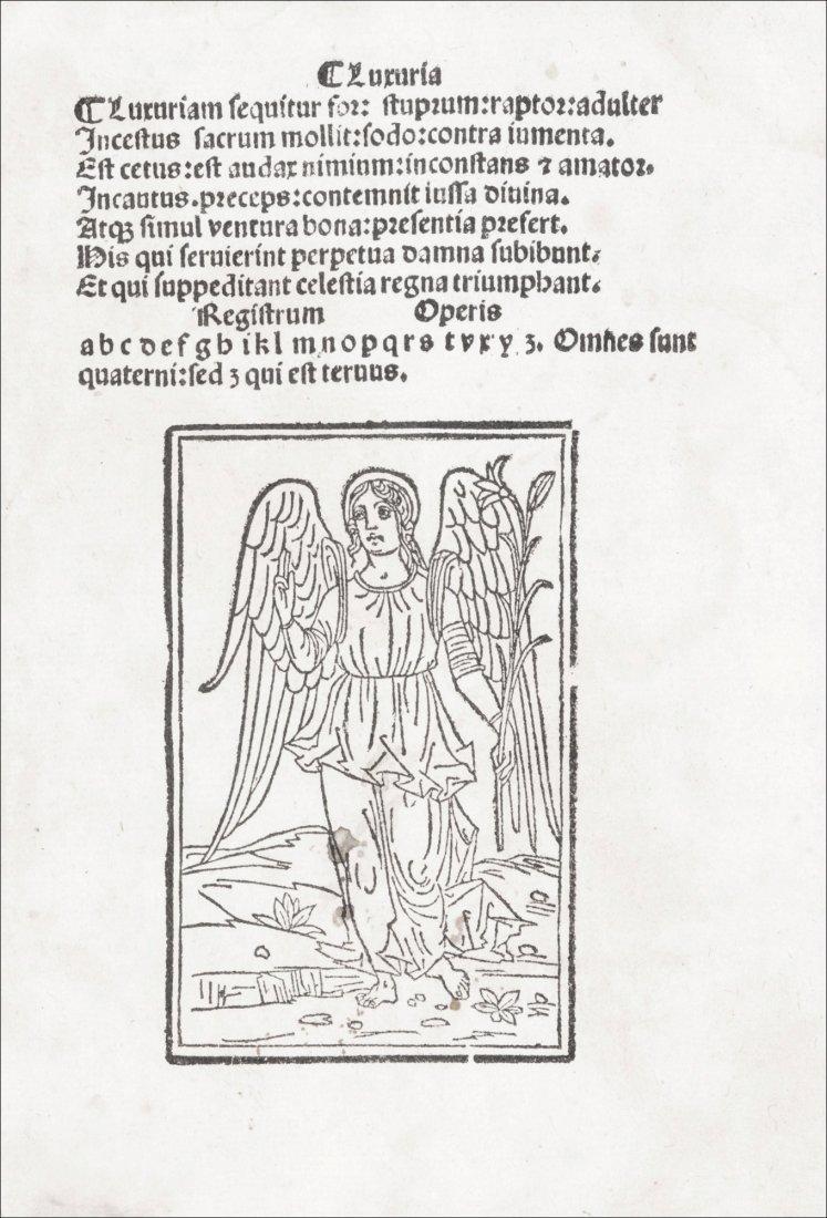 [Incunabula] Antoninus of Florence, 1499