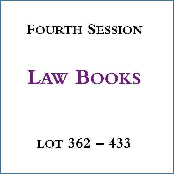 Session IV - Law Books