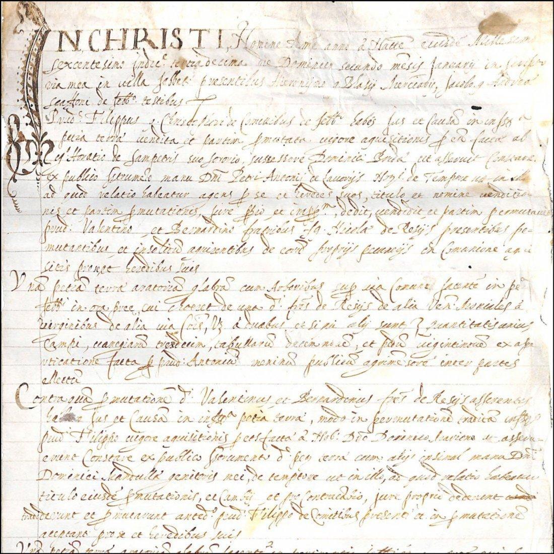 [Manuscripts] Ms on vellum 1600