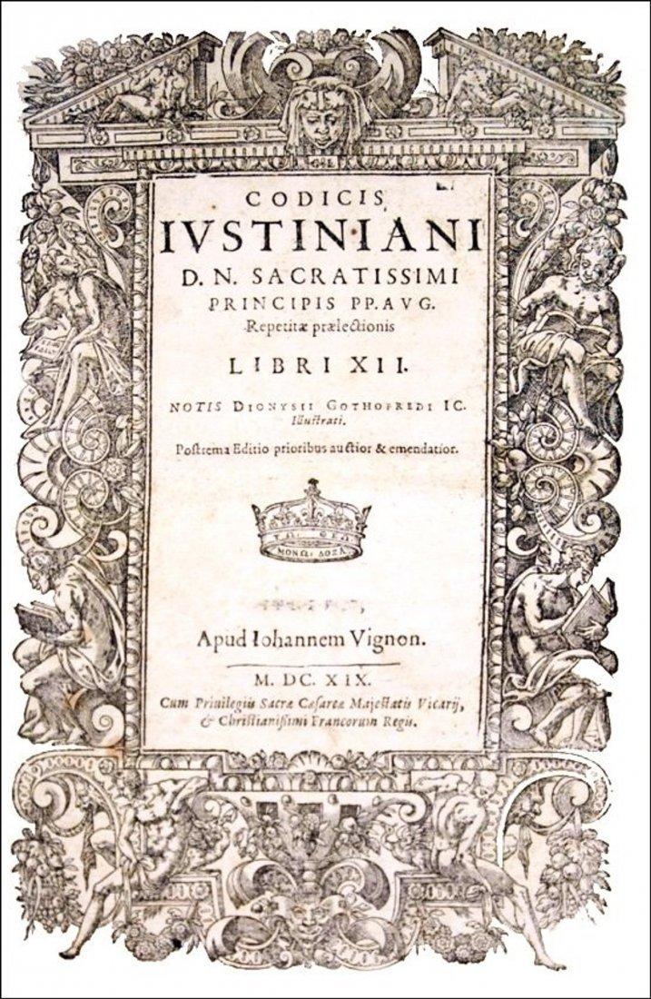 [Western Law] Justinianus, Corpus Iuris, 1619