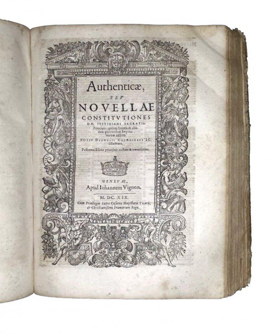 [Western Law] Justinianus, Corpus Iuris, 1619 - 2