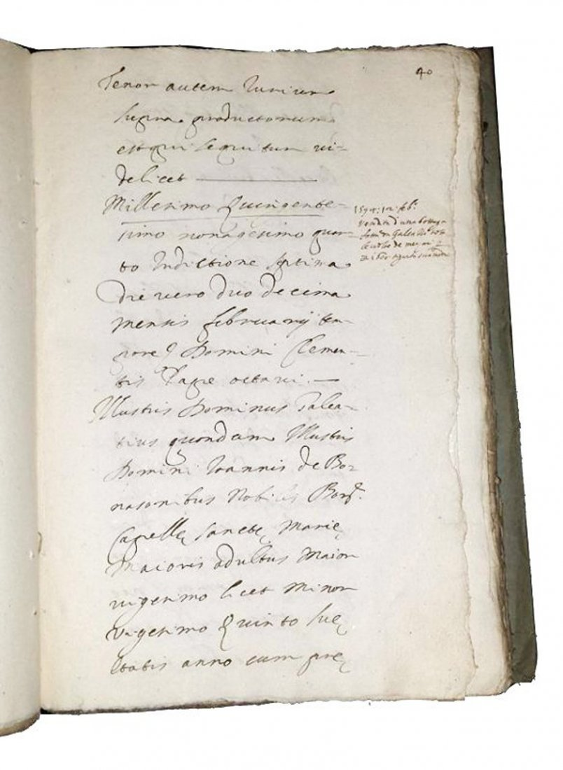 [Manuscripts] Ms on paper, Bonasoni Ghislieri, 1624 - 5
