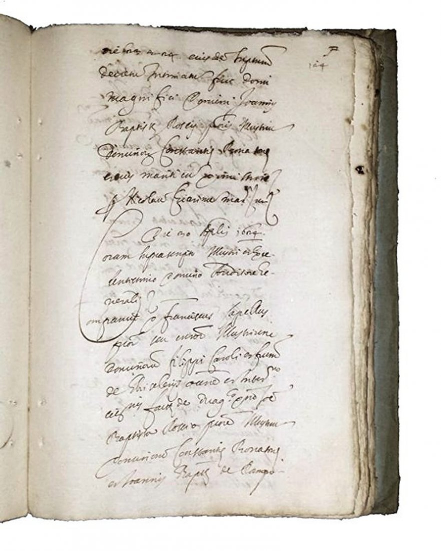 [Manuscripts] Ms on paper, Bonasoni Ghislieri, 1624 - 7