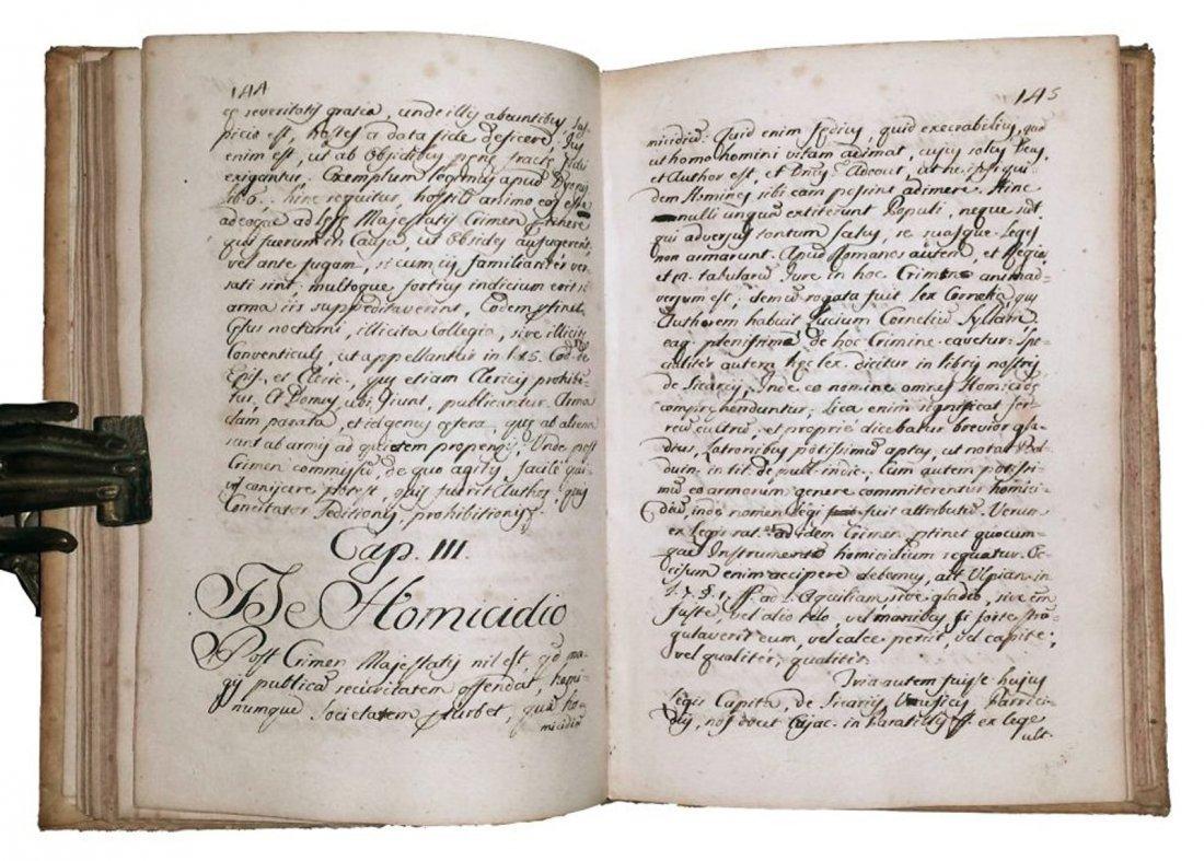 [Manuscripts] Ms Institutiones Criminales