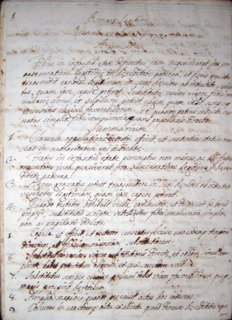 [Manuscripts] Ms Cerri, 1719, 3 vols - 2
