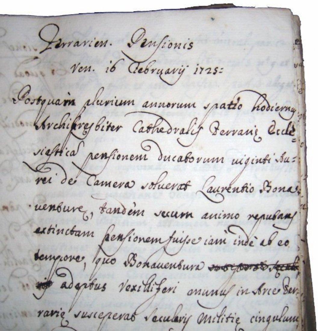 [Manuscripts] Ms Cerri, 1719, 3 vols - 3