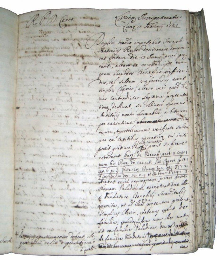 [Manuscripts] Ms Cerri, 1719, 3 vols - 6