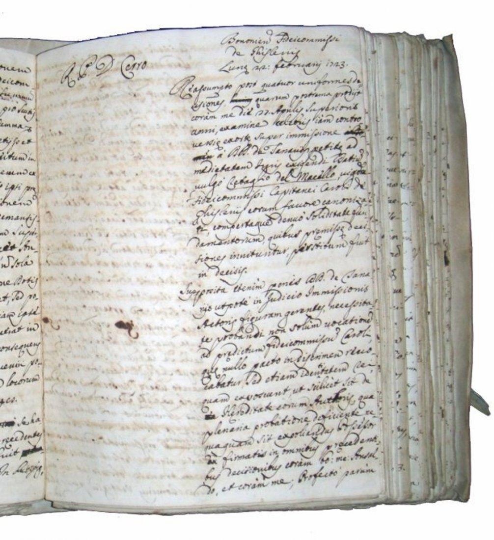 [Manuscripts] Ms Cerri, 1719, 3 vols - 7