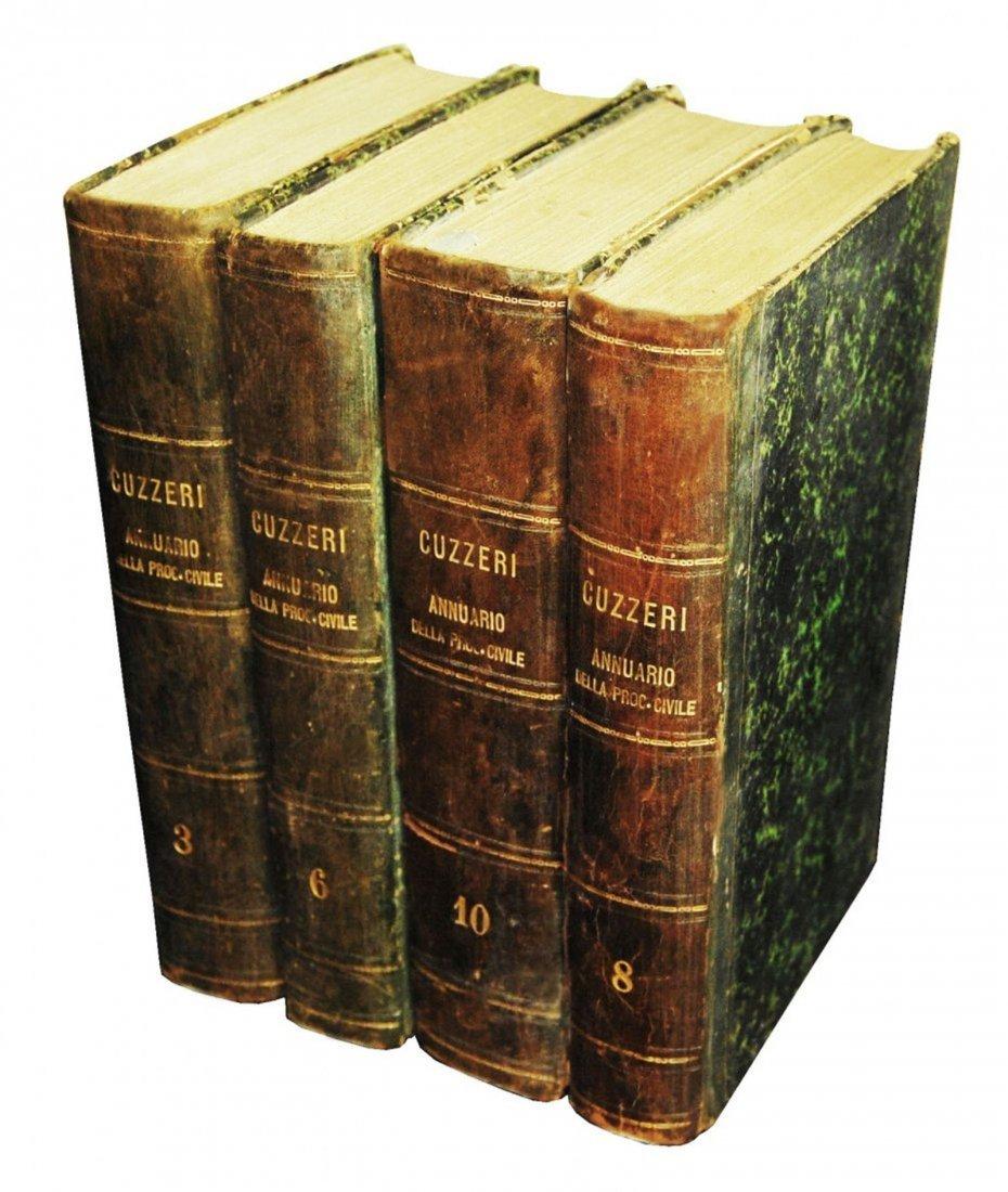 [Civil Procedure] Cuzzeri, Annuario, 1883, 4 vols