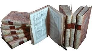 Bartolo da Sassoferrato, Opera Omnia, 1557, 9 volumes