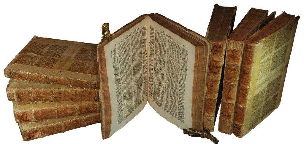 Bartolo da Sassoferrato, Opera Omnia, 1555, 10 volumes