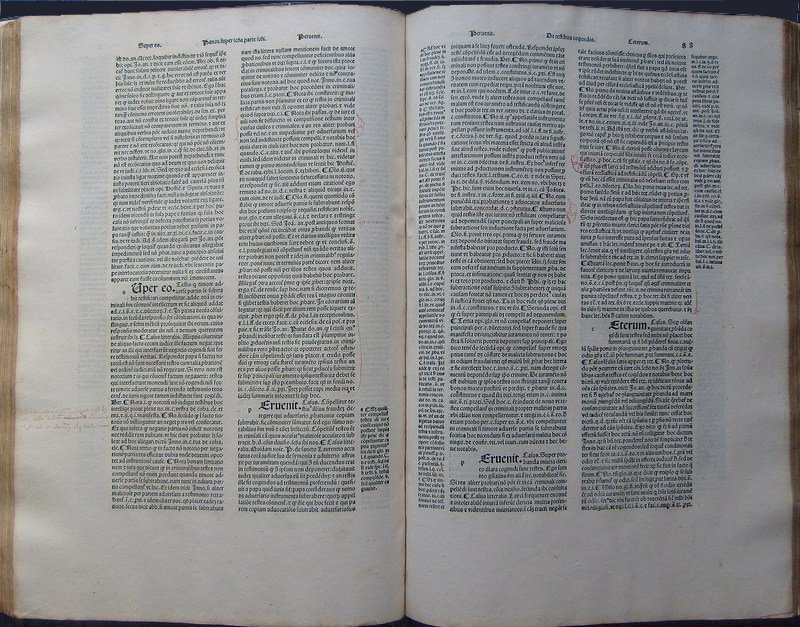 (Canon Law) Abbas Panormitanus, Super secunda, 1502
