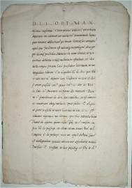 (Fiscal Law) Alciati, Manuscript on paper, ca.1525-1550