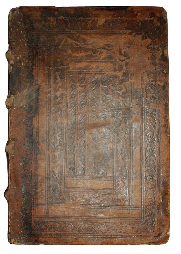 (Collected Works, binding) Alciati, Paradoxa, Lyon 1548