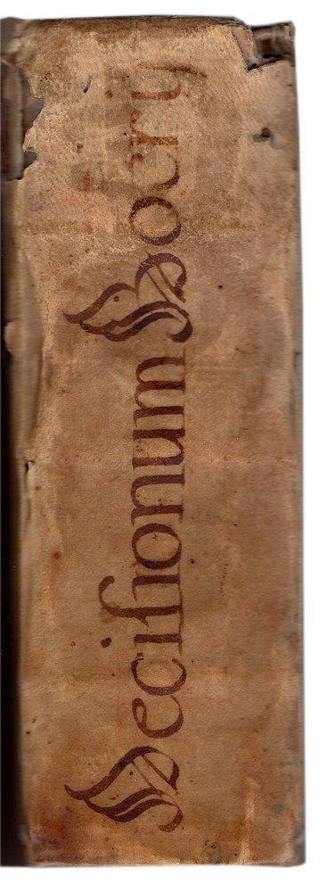 (French Law, Bordeaux) Boerius, Decisiones,1568