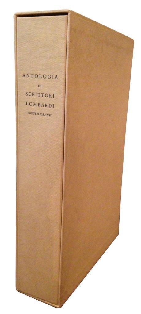 (Tallone) Antologia degli scrittori lombardi, 1961