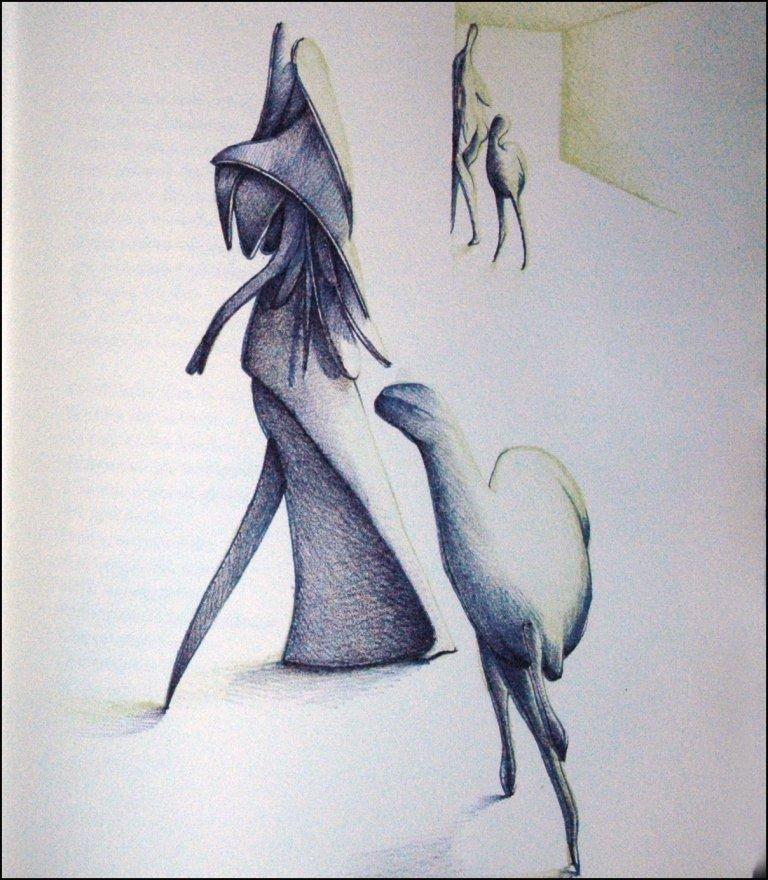 (Upiglio) Carrieri, L'invitato clandestino, 1981
