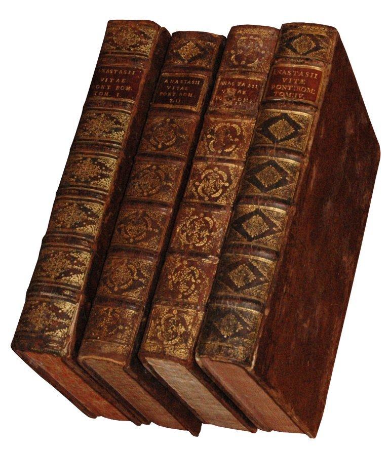 [History of the Popes] Anastasius, 1718-35, 4 vols
