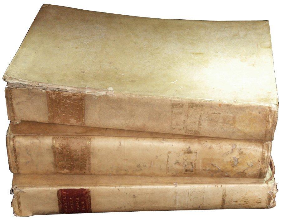 Basil of Caesarea (Saint), Opera, 1721-30, 3 volumes