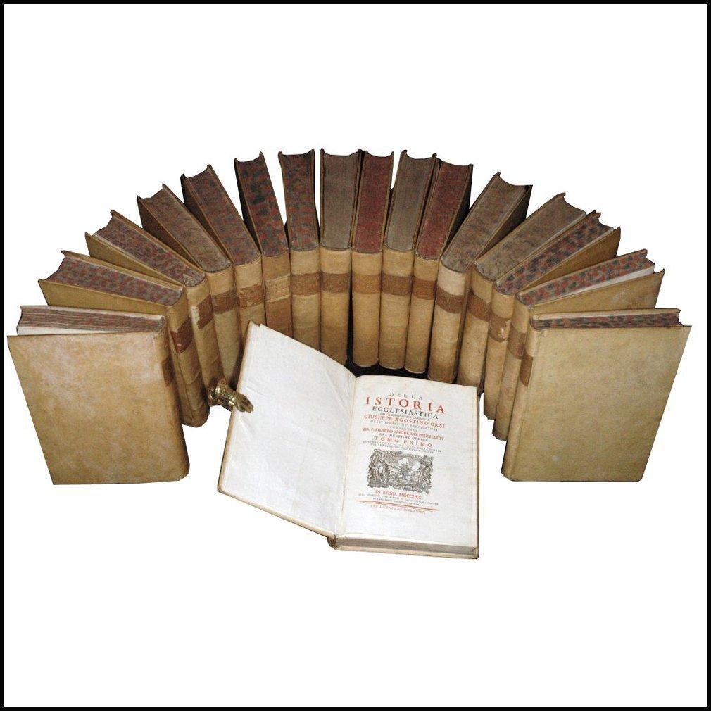 [History of the Church] Becchetti-Orsi, 1770, 17 vols