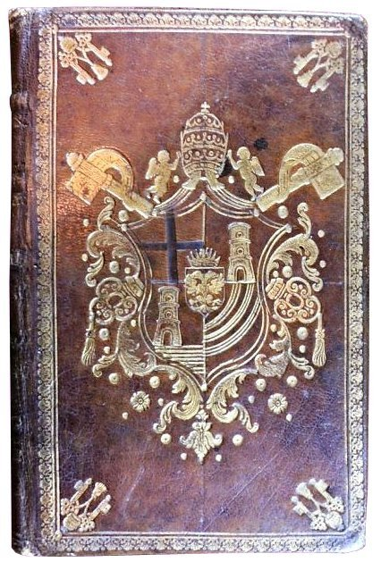 [Incunable, Papal Binding] Chevrier, Oratio, 1485
