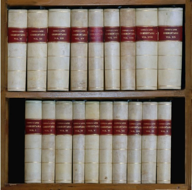 [Bible Commentary, Jesuits] Lapide 1857-70, 19 volumes