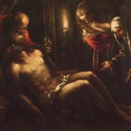 Bassano, Lamentation over the Dead Christ, 1580-82