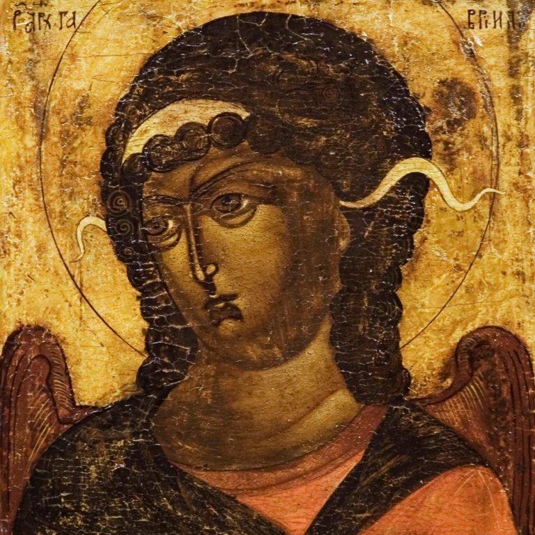 Moscow School, The Archangel Gabriel, 17th century