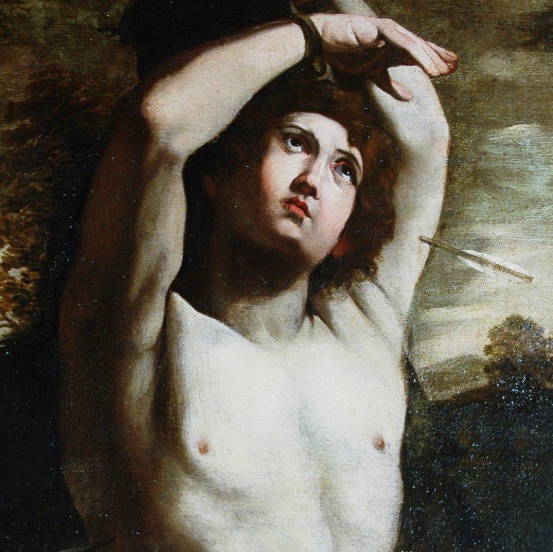 Guido Reni (circle), Saint Sebastian