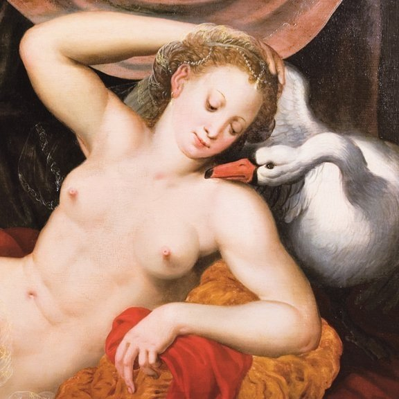 Vincent Sellaer, Leda and the Swan