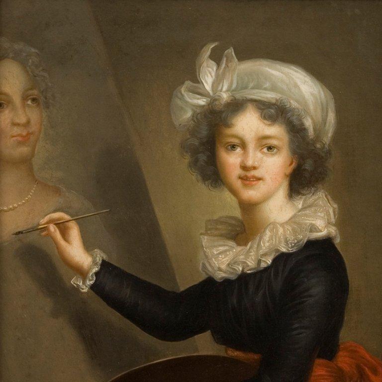 Vigée Le Brun (after), Portrait of the Artist