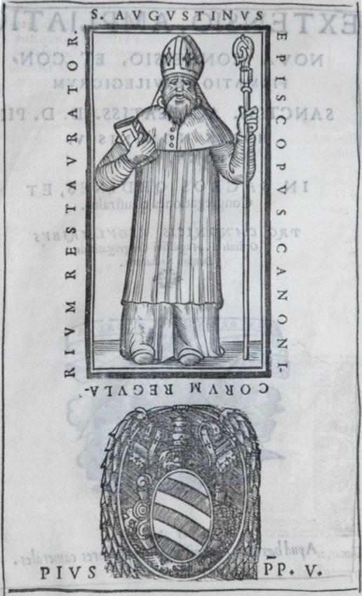 [Printed on vellum] Pius V, Extensio, 1567