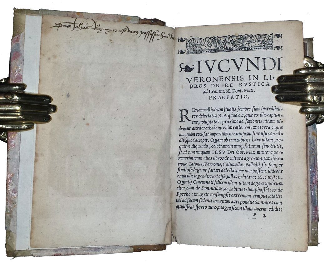 [Agriculture, Food and Wine] Cato, De re rustica, 1528 - 3