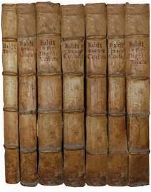 [Sources of Modern Law] Baldo degli Ubaldi, Opera, 1586