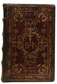 [Bindings, Manuscripts] Marcello de Rotis, 1610-1737