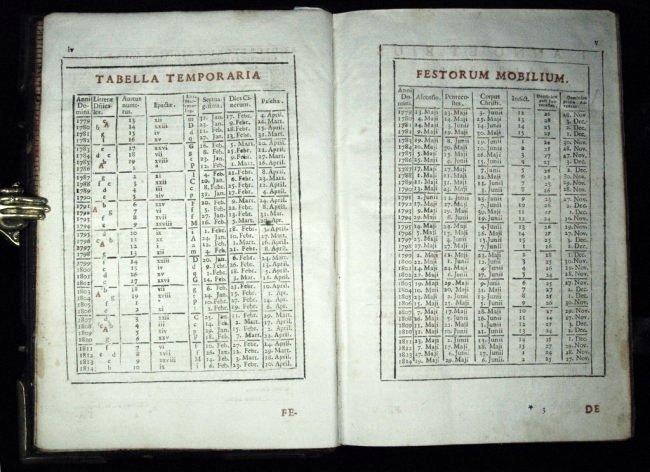 [Breviary] Breviarium Romanum, 1779 - 4