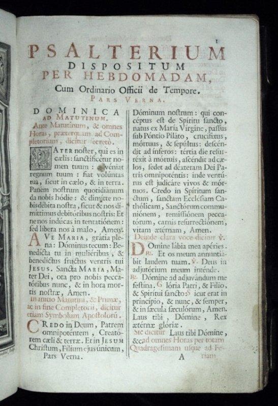 [Breviary] Breviarium Romanum, 1779 - 6