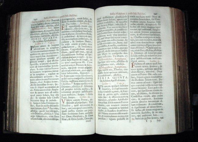 [Breviary] Breviarium Romanum, 1779 - 7