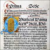 [Incunable, Foundation of Theology] St. Thomas, 1496