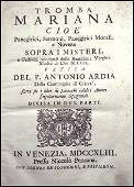 [Jesuits, Homilies & Speeches, Holy Mary] Ardia, 1743