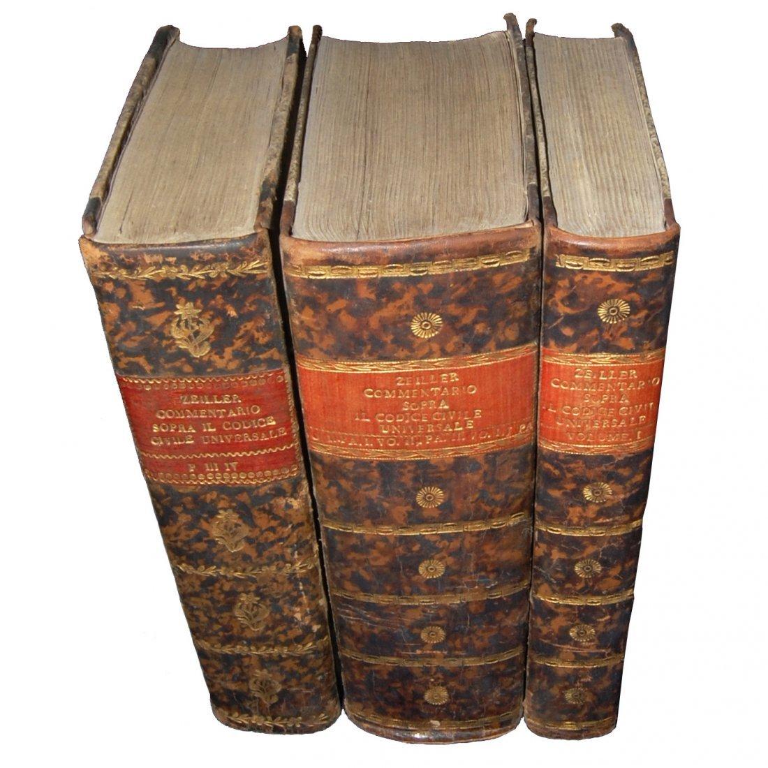 [Austria, Civil Code] Zeiller, 1815-16, 3 vols