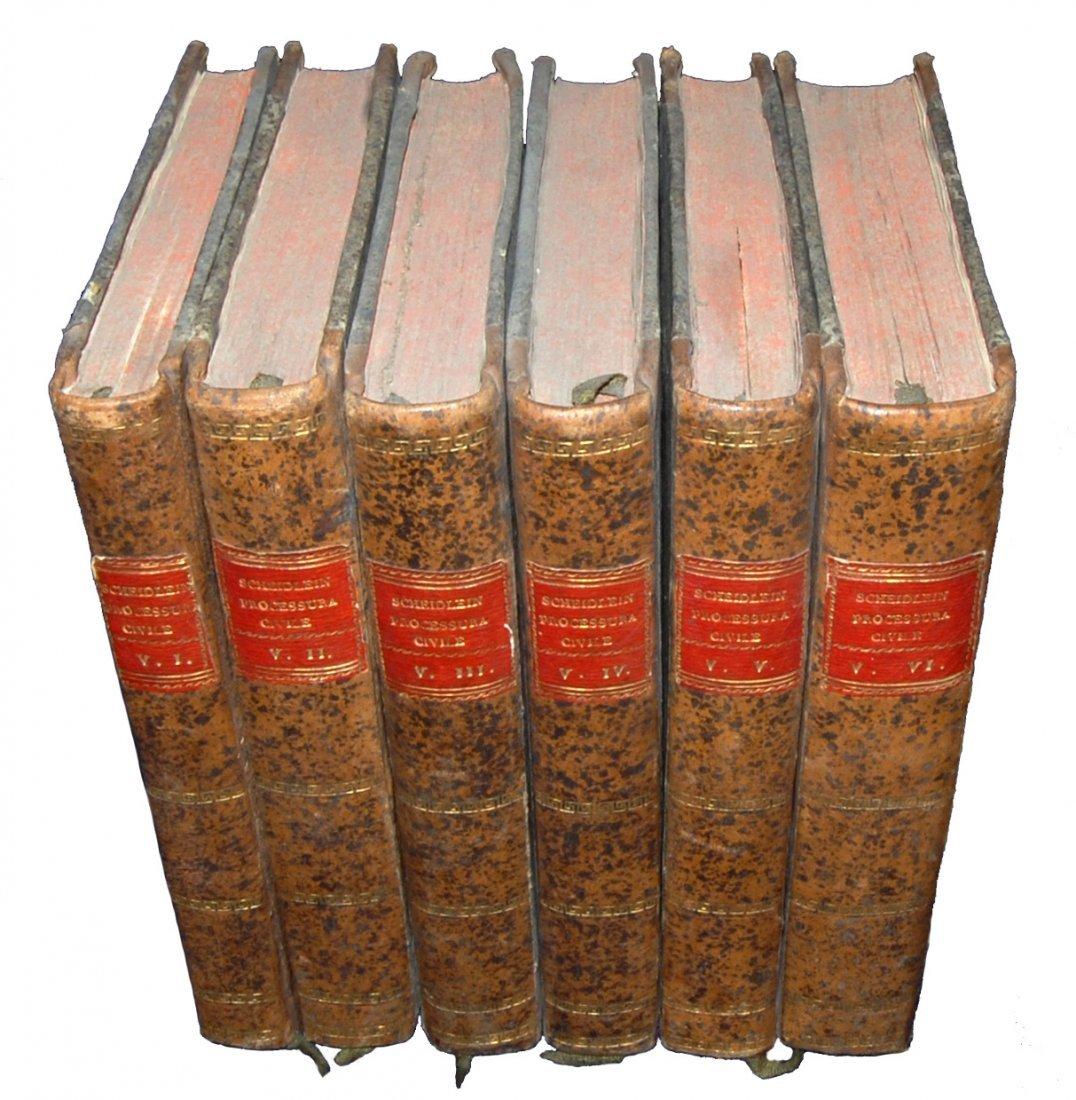[Austria, Civil Code] Scheidlein, 1815-16, 6 vols