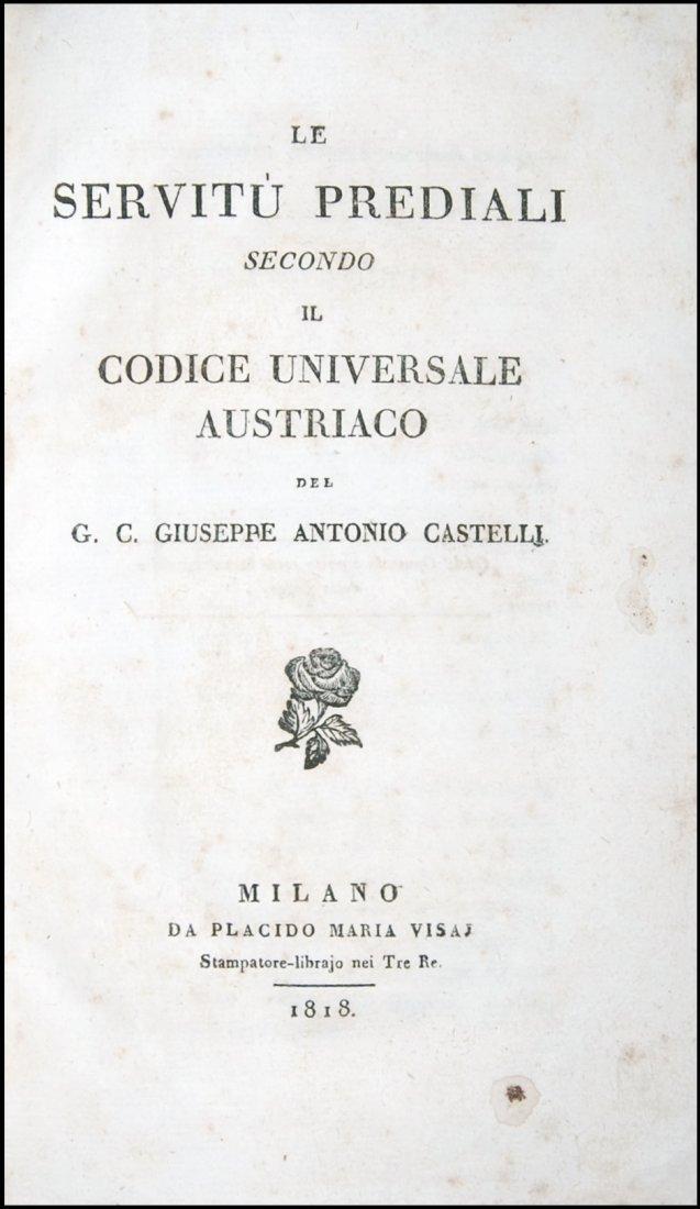 [Austria, Civil Code, Easements] Castelli, 1818