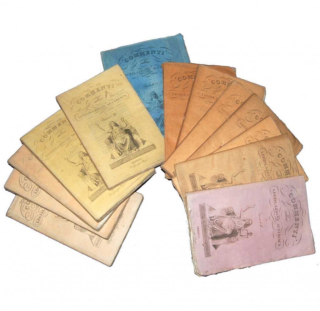 [Austria, Civil Code] Comments, 1827-1830, 13 vols
