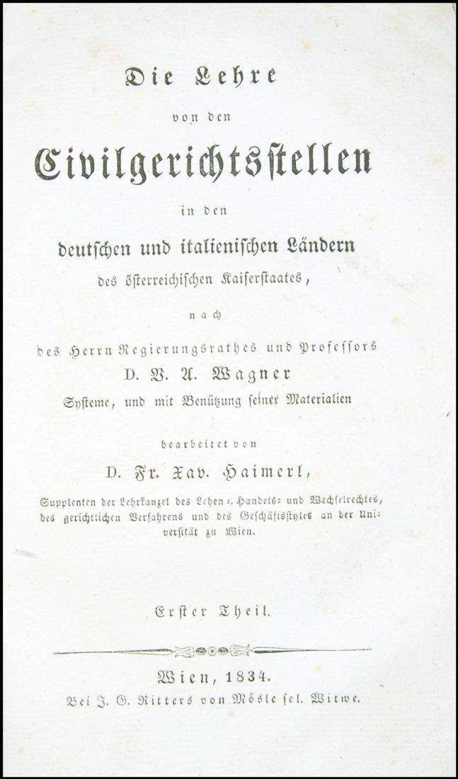 [Austria, Civil Code, Laws in Germany] 1828-35, 4 vols