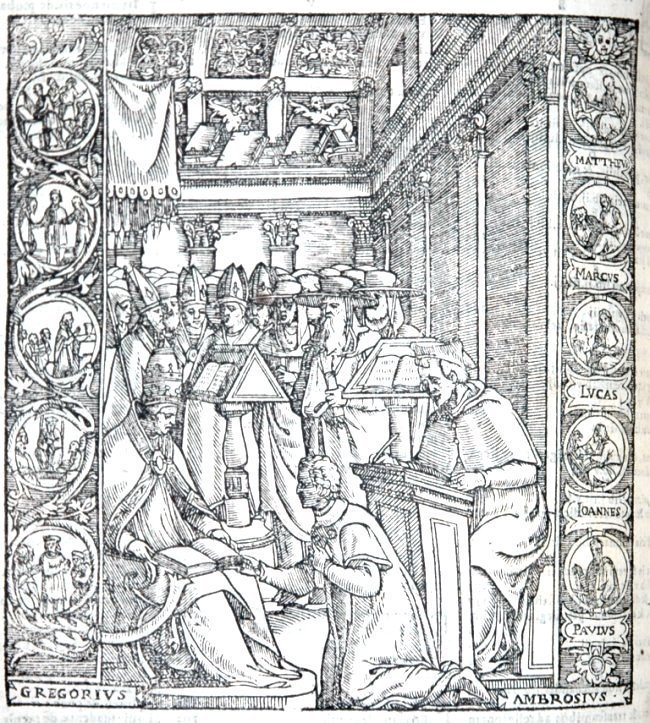 [Canon Law, Sources] Boniface VIII & others 1584, 3 v.