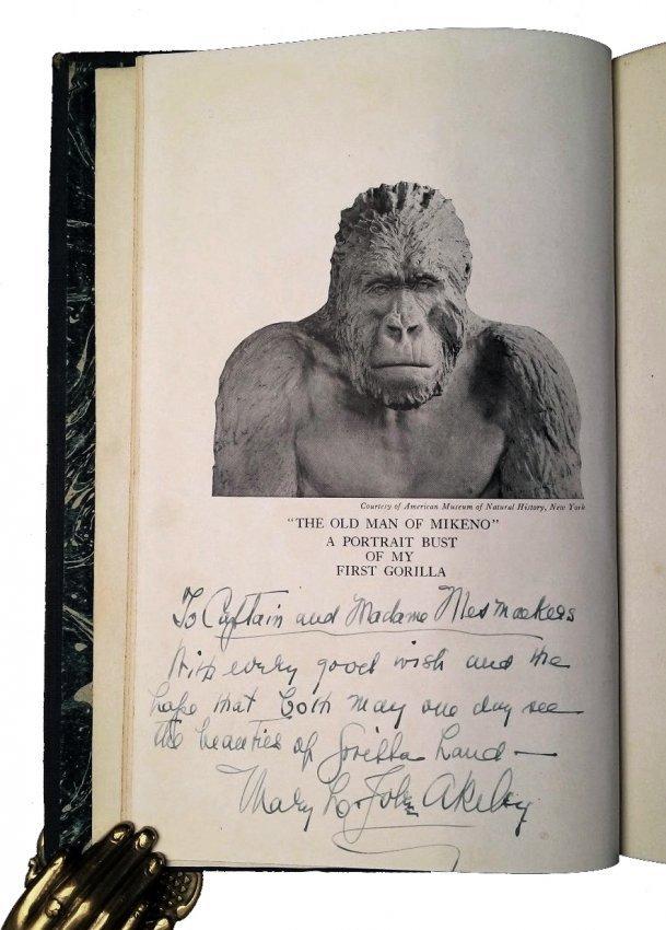 [Africa, Voyages] Akeley - Brown, 1923-1916, 2 vols