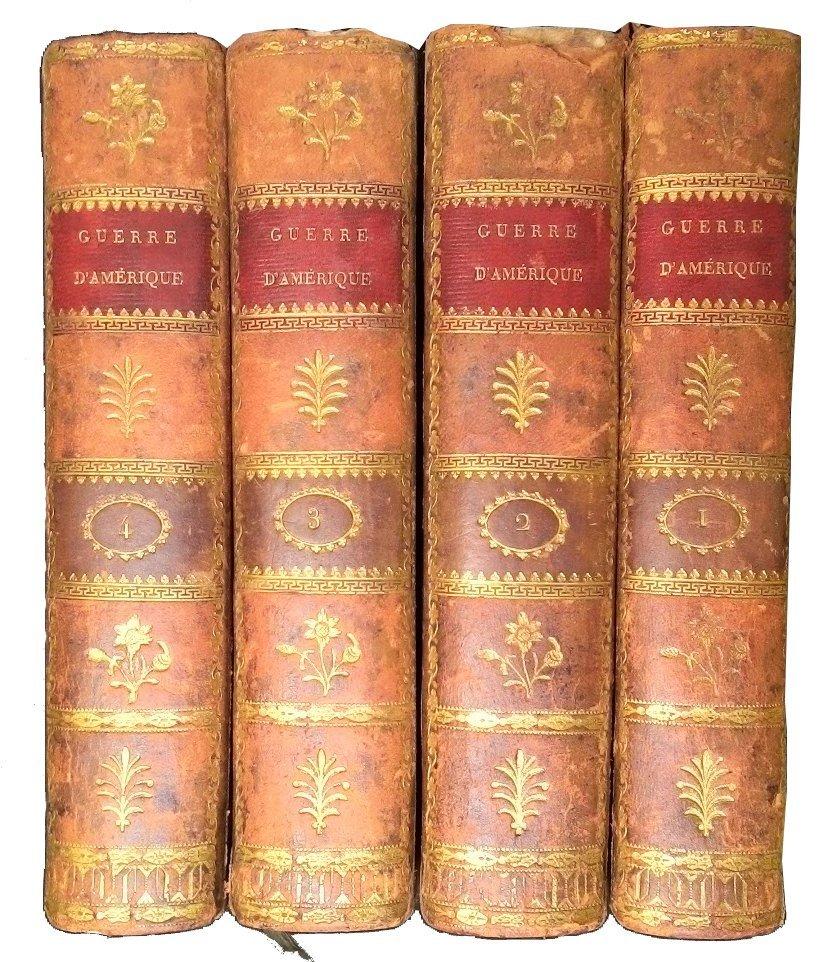 [America, Indipendence] Botta-Guizot, 1812-1851, 6 vols