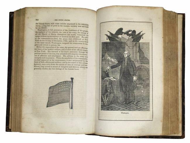 [America, Pictorial History] Goodrich, America, 1852