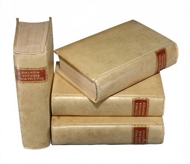 [Asia, Voyages] Chardin, Voyages, 1723, 8 vols, 65 pl.